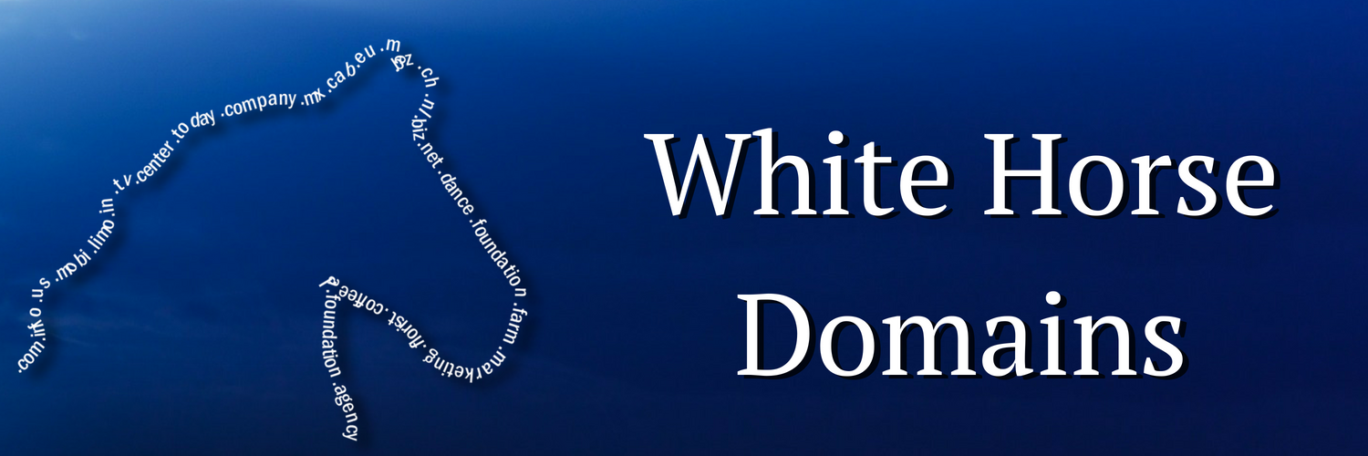 White Horse Domains Logo