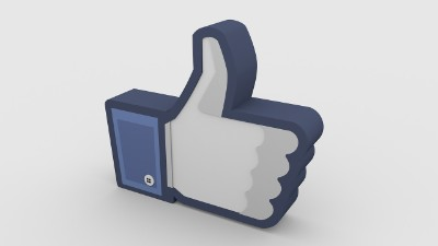 facebook thumbs up hand