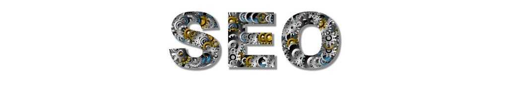 S.E.O. spelled out in gears for White Horse Domains